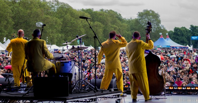 Jive Aces in Hyde Park